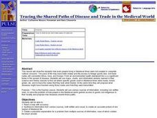 Tracing the Shared Paths of Disease and Trade in the Medieval World Lesson Plan