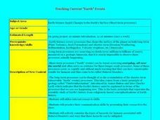 "Tracking Current ""Earth"" Events Lesson Plan"