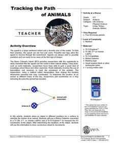 Tracking the Path of Animals Lesson Plan