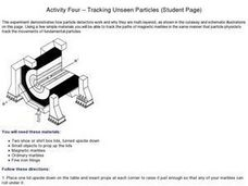 Tracking Unseen Particles Worksheet