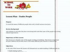 Trades People Lesson Plan