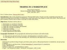 Trading in a Marketplace Lesson Plan