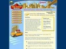 Trail of Discovery Lesson Plan