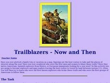 Trailblazers - Now and Then Lesson Plan