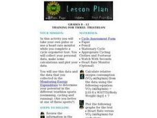 Training for Three: Triathlon Lesson Plan