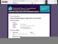 Trains & Musical Imagery: Approach to Concert Band Lesson Plan