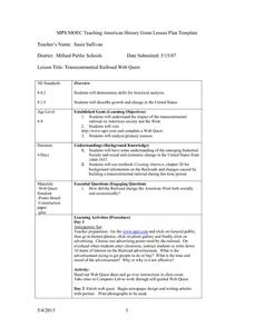 Transcontinental Railroad Web Quest Lesson Plan