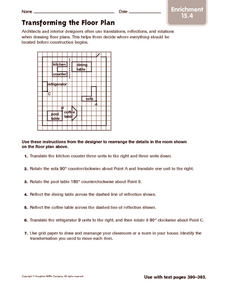 Transforming the Floor Plan: Enrichment Worksheet