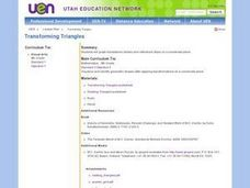 Transforming Triangles Lesson Plan