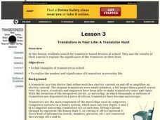 Transistor Hunt Lesson Plan