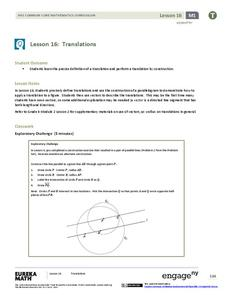 Translations Lesson Plan