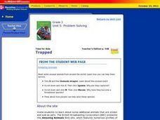 Trapped Lesson Plan