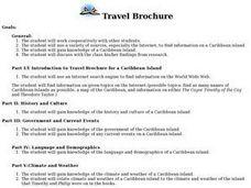 Travel Brochure 9th 12th Grade Lesson Plan Lesson Planet