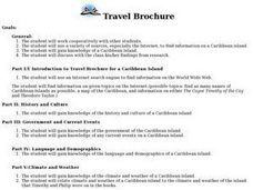 Travel Brochure Lesson Plan