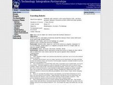 Traveling Robots Lesson Plan