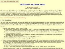 Traveling the Silk Road Lesson Plan