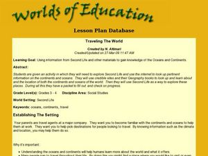 Traveling The World Lesson Plan