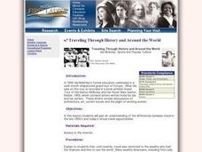 Traveling Through History and Around the World Lesson Plan