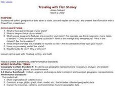 Traveling with Flat Stanley Lesson Plan