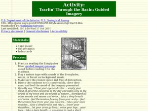 Travlin' Through the Basin: Guided Imagery Lesson Plan