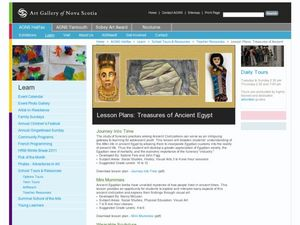 Treasures of Ancient Egypt Lesson Plan