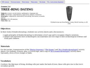 Tree-Ring Dating Worksheet