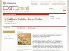 Trekking to Timbuktu: The Geography of Mali -Teacher Version Lesson Plan