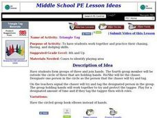 Triangle Tag Lesson Plan