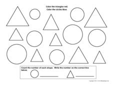 Triangles and Circles #2 Worksheet