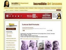 Tribal (or Ethnic) Self Portrait Lesson Plan