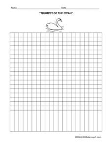 Trumpet of the Swan Favorite Character Graph Worksheet