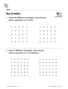 Try It Twice Worksheet