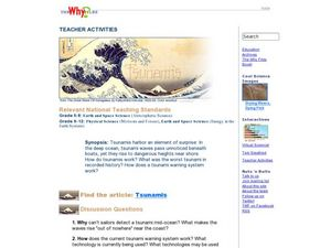 """Tsunamis"" Lesson Plan"