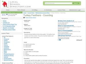 Turkey Feathers Lesson Plan