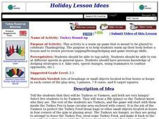 Turkey Round-up Lesson Plan