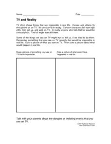 TV and Reality Lesson Plan