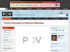 Twelve Disciples of Nelson Mandela Lesson Plan