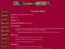Twizzlers Math Lesson Plan