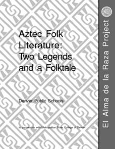 Two Legends And A Folktale Lesson Plan