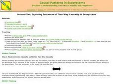 Two Way Causality in Ecosystems Lesson Plan