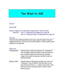 Two Ways To Add Lesson Plan