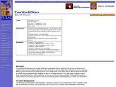 Two World Wars Lesson Plan