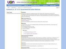 U.S. Government & Indian Nations Lesson Plan