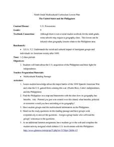 U.S. Possessions Lesson Plan