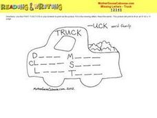 ---uck Word Family Worksheet