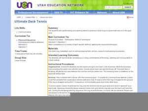 Ultimate Deck Tennis Lesson Plan