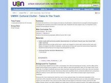 UMNH: Cultural Clutter - Tales In The Trash Lesson Plan