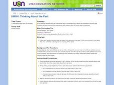 UMNH: Thinking About The Past Lesson Plan