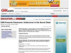 Undercover in the Secret State Lesson Plan