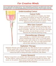 Understanding Cancer Lesson Plan